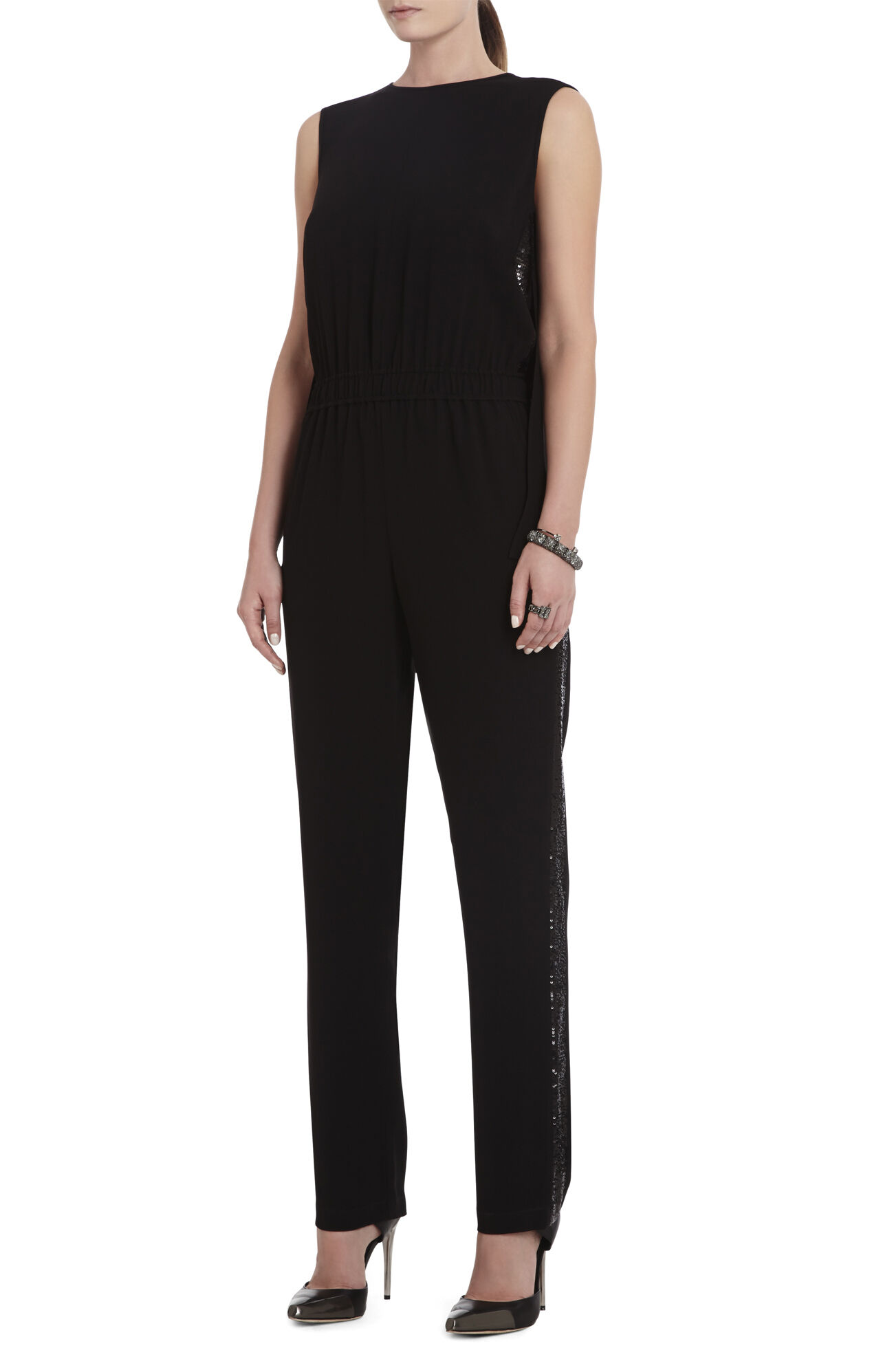 Mirabella Sleeveless Embellished Jumpsuit