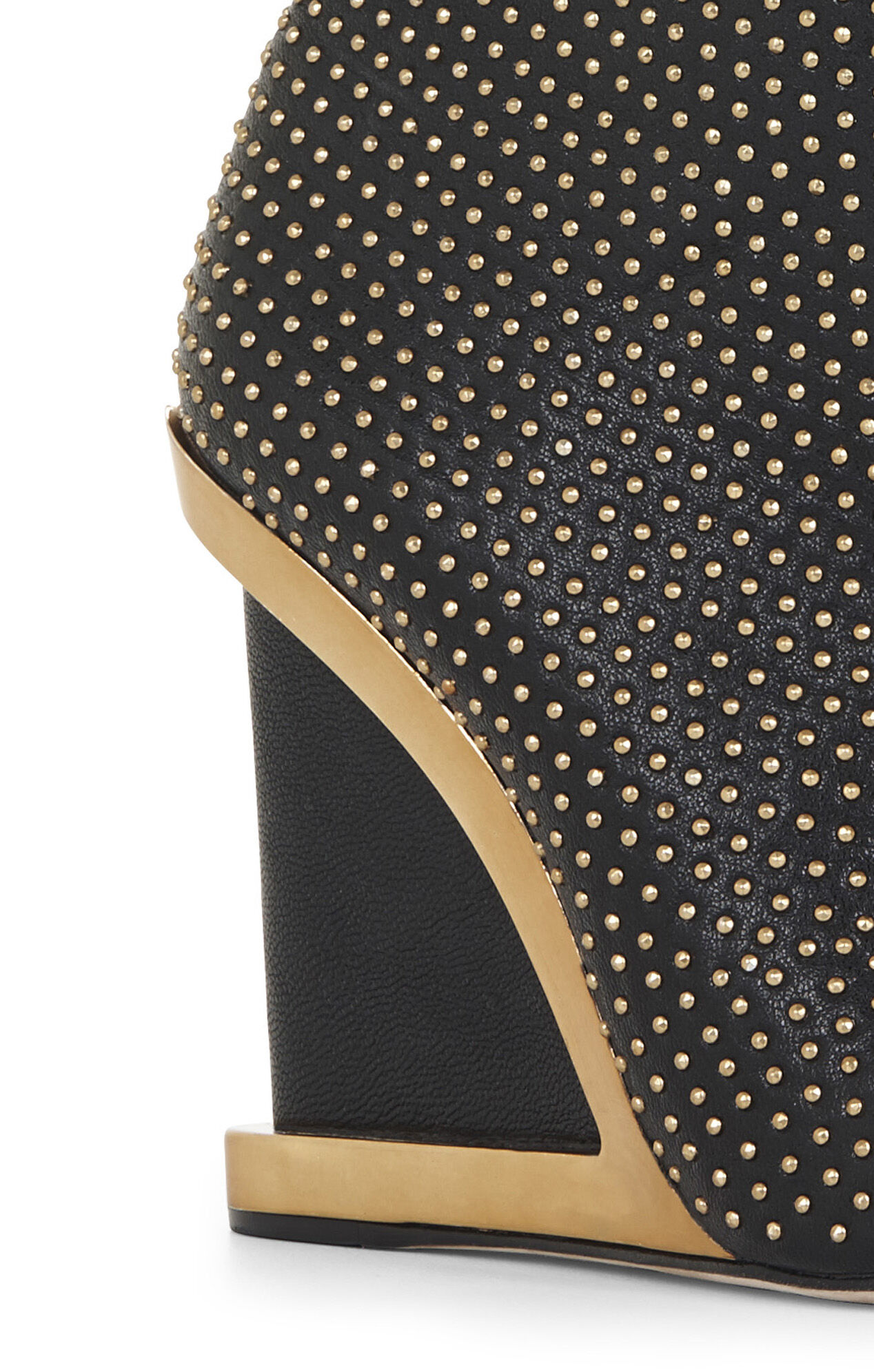 Wane Studded Wedge Bootie