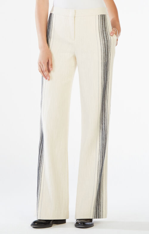 Daniel Striped Wide-Leg Pant