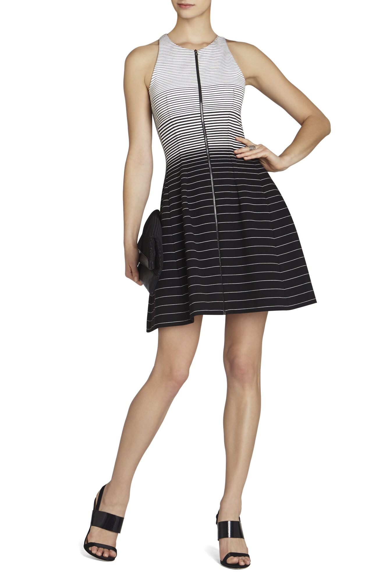 Giuliana Striped Tulip Dress