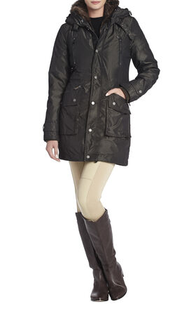 Taylor Fur-Trimmed Anorak Coat