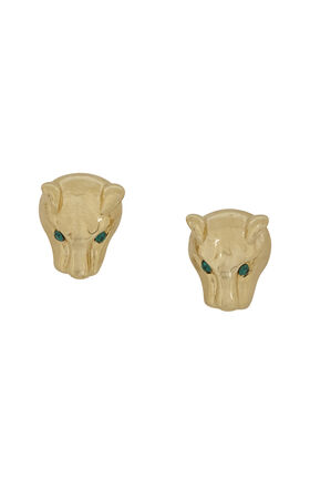 Panther Stud Earrings