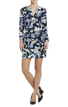 Hayden Printed Shift Dress