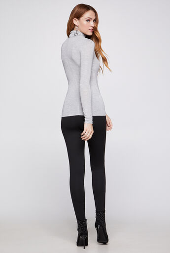 Long-Sleeve Layering Turtleneck