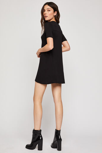 Back Yoke A-Line Dress