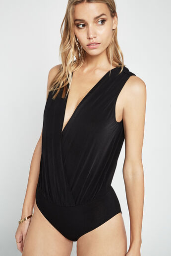 Low V-Neck Bodysuit