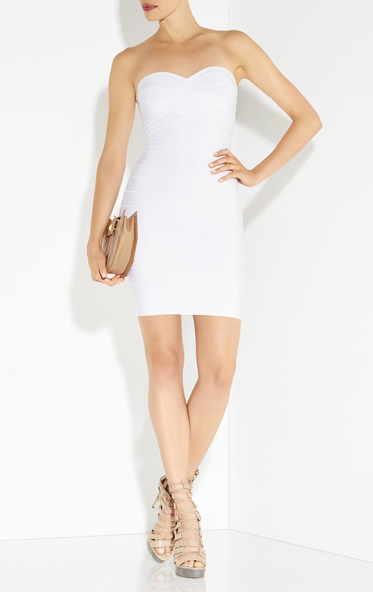 Denise Signature Essentials Strapless Dress