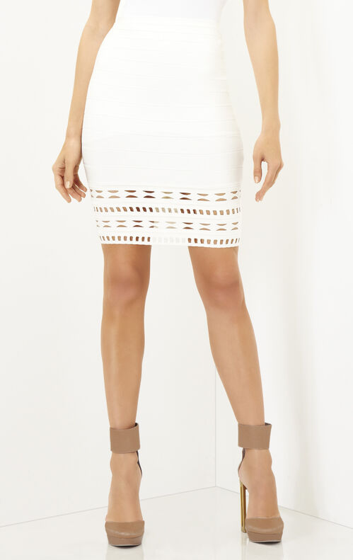 Meredith Embroidery Englese Cutout Skirt