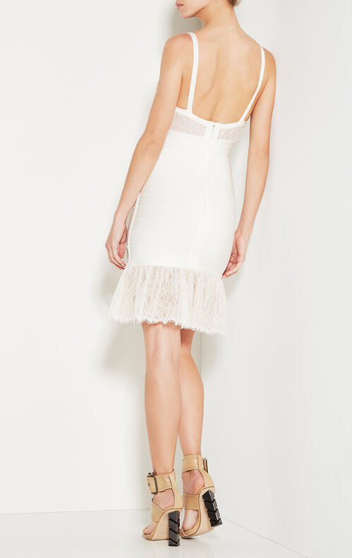 Addison Vintage Lace Bandage Dress