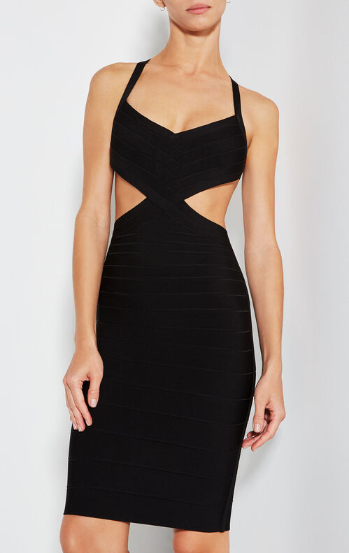 Dionne Cutout Bandage Dress