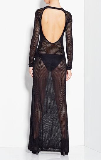 Gabriella Engineered Mesh Pointelle Dress