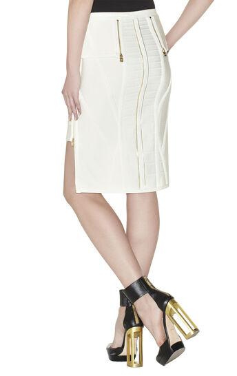 Ivan Zipper-Detailed Skirt