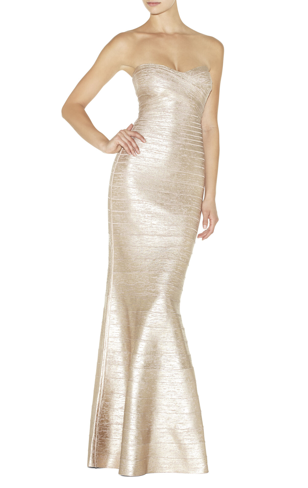 Sara Strapless Signature Bandage Gown