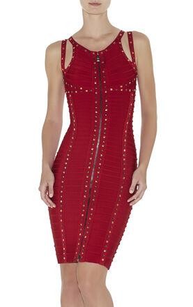 Hayden Studded-Detail Dress