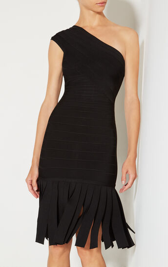Renee Wide Fringe Detail Dress