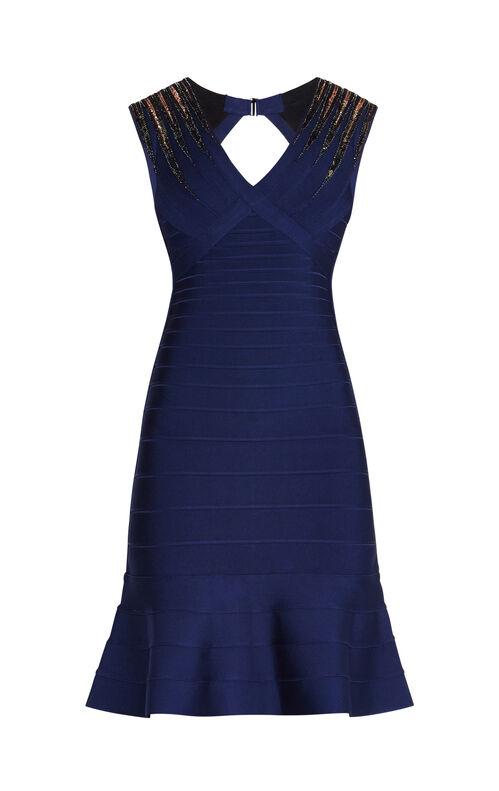 Adrianna Starburst Sequined Dress
