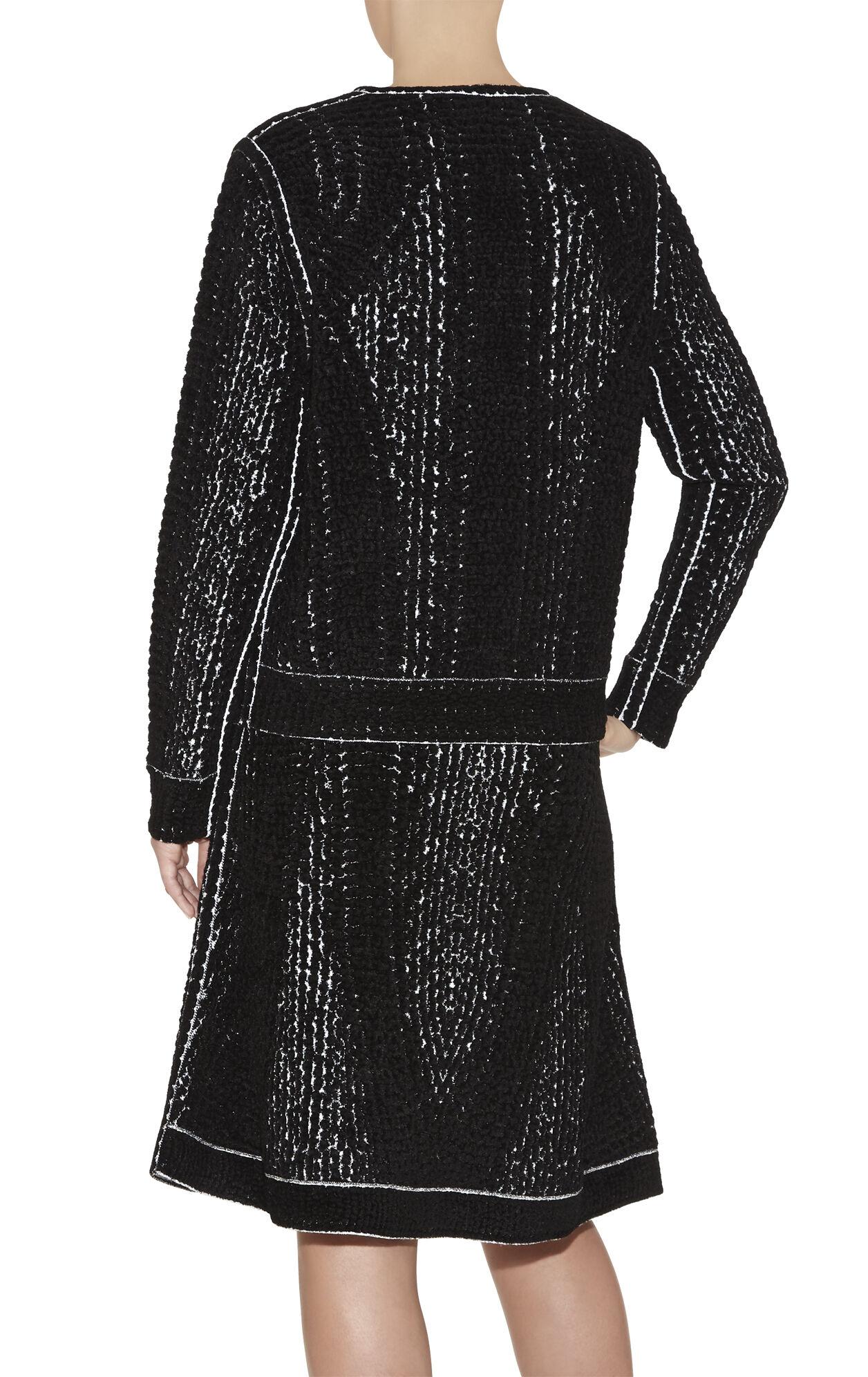 Ronja Chenille Snake Jacquard Sweatshirt