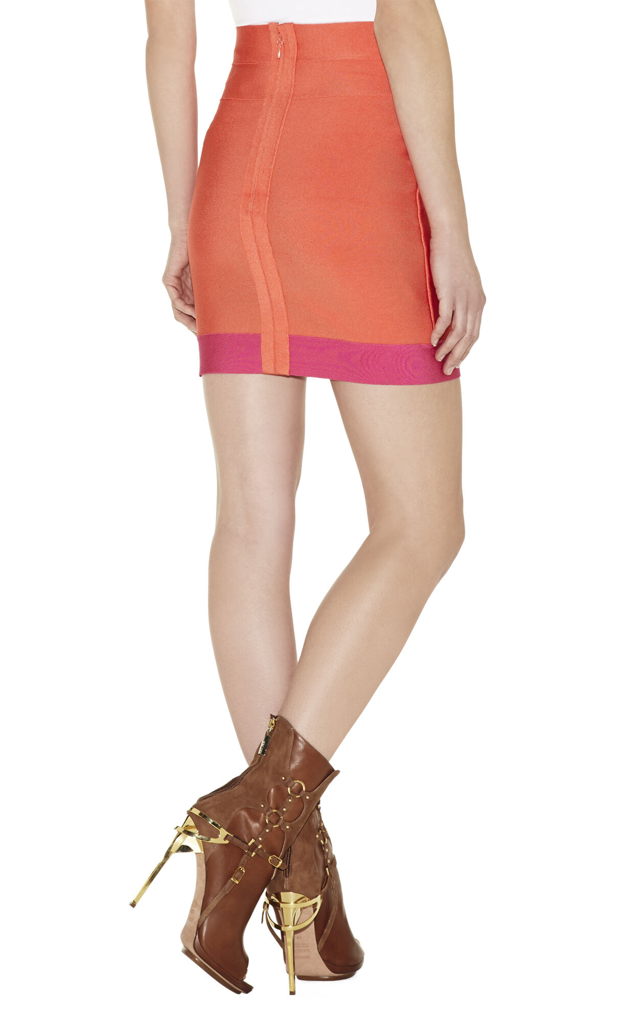Colorblocked Pencil Skirt