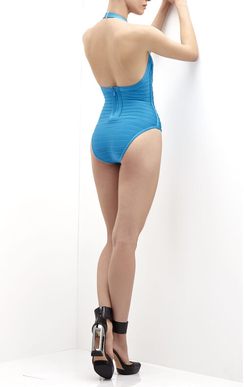 Michelli Twist Detail Bandage One-Piece Swimsuit