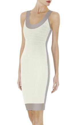 GWYNETH COLORBLOCKED DRESS