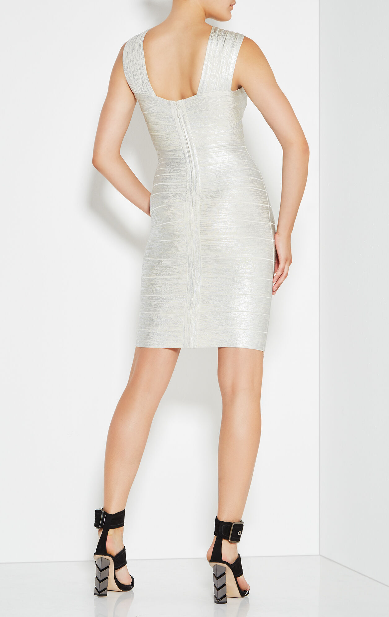 Stella Woodgrain Foil Dress