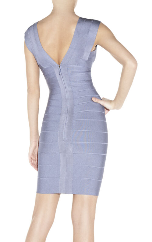 Elise V-Neck Bandage Dress