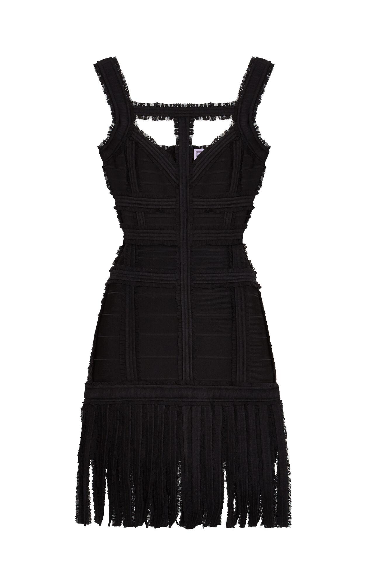 Carley Chiffon Detail Dress