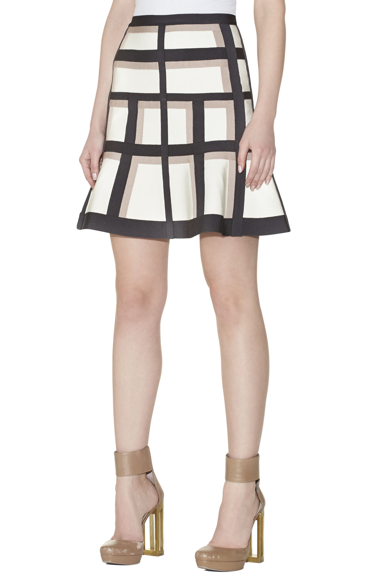 Novak Colorblocked Skirt