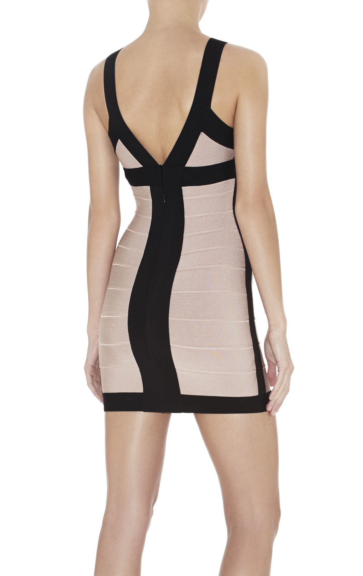 Billie Colorblocked Bandage Dress