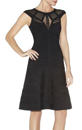 Viviane Pointelle Bandage Dress