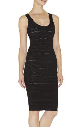 Lilykate Scalloped-Trim Lace Bandage Dress