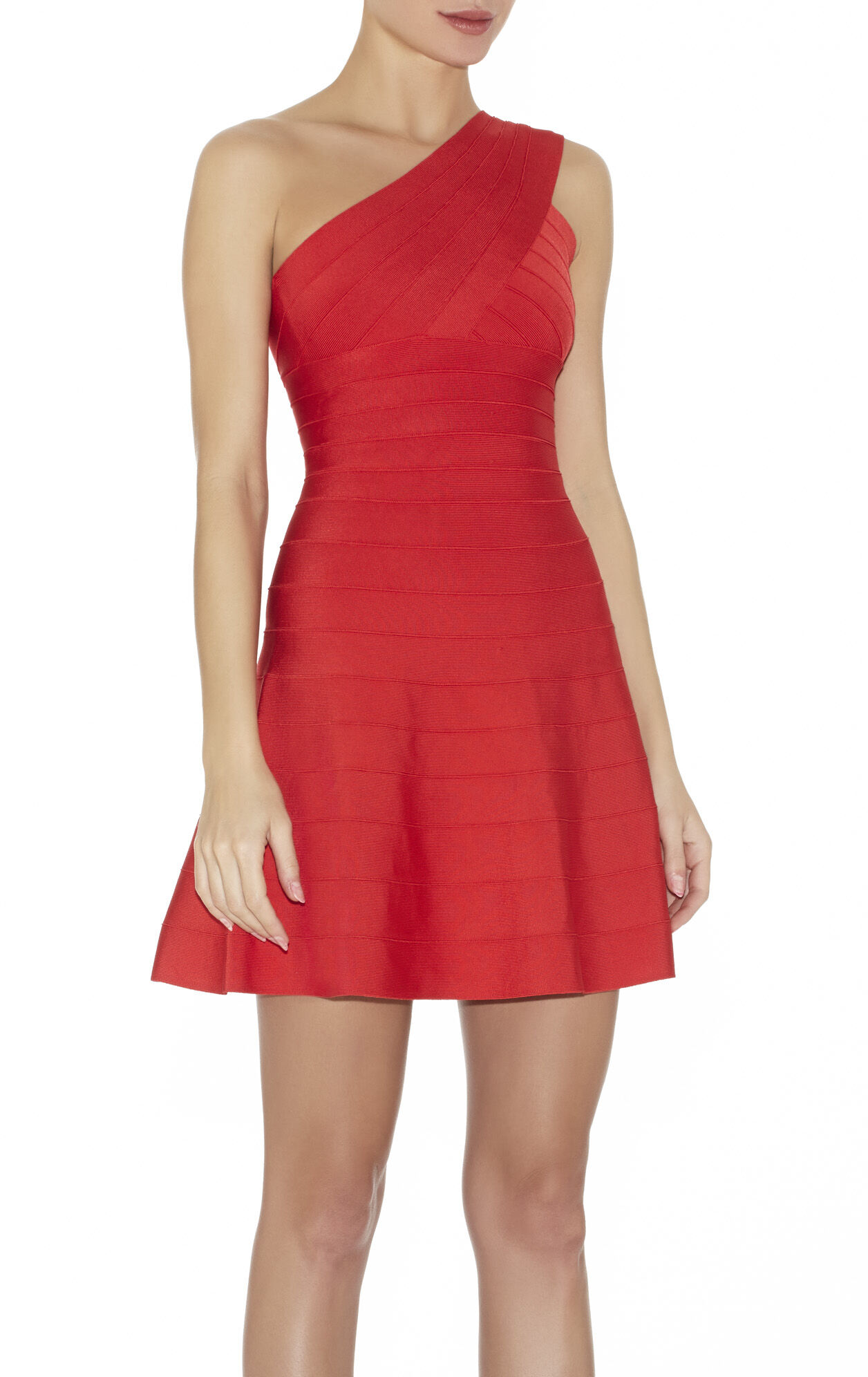 Sydney Signature One-Shoulder Bandage Dress
