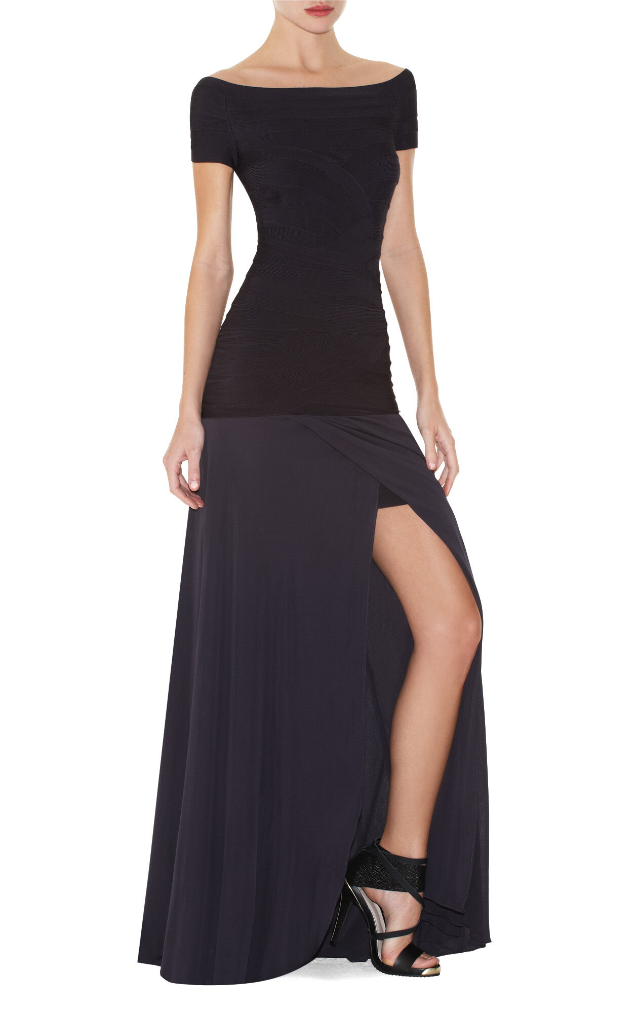 Erica Silky Jersey Gown