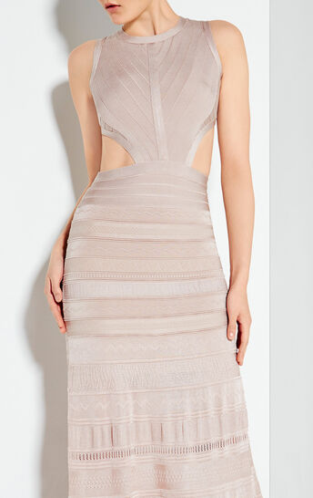 Alondra Pointelle Bandage Gown
