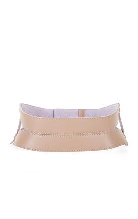 Garter-Detail Waist Belt