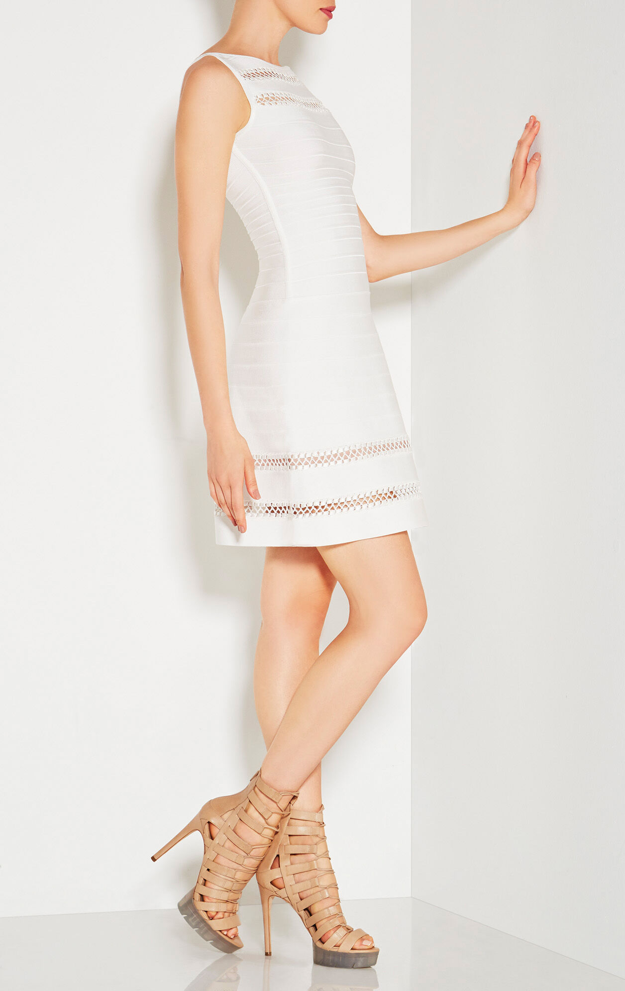 Rea Crochet Cage Stitch Dress
