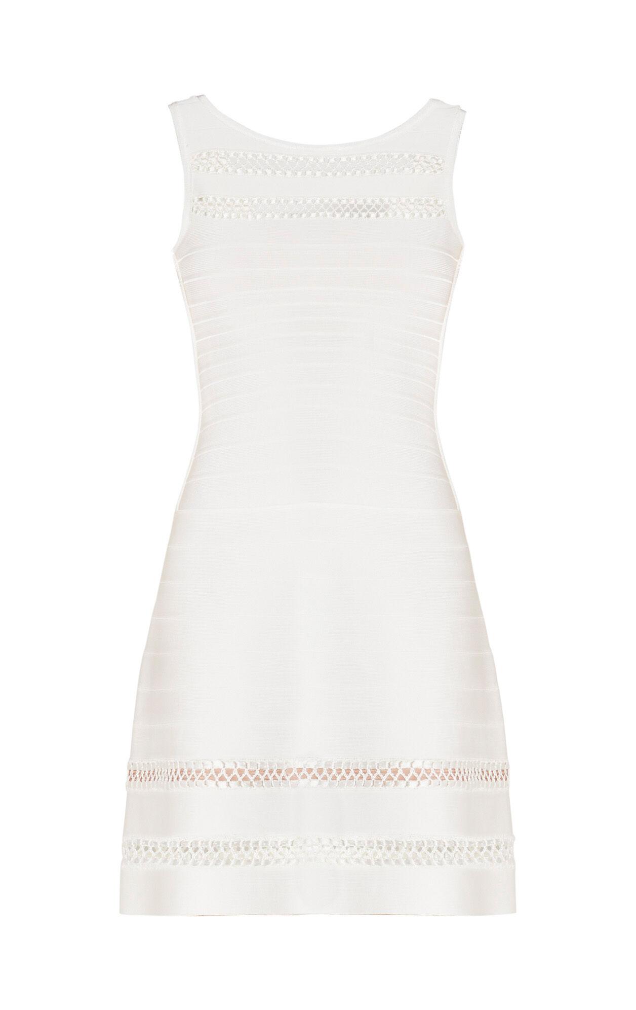 Rea Crochet Cage Stitch Dress