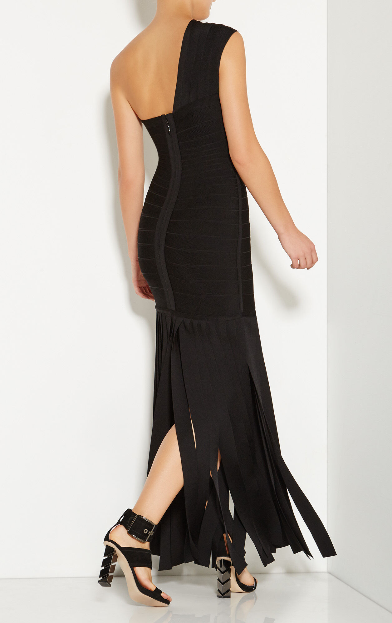 Daniela Wide Fringe Detail Gown