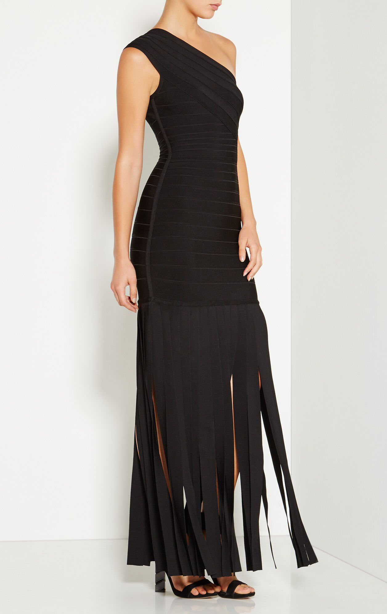 Daniela Wide Fringe Detail Gown