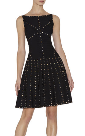 Tamar Studded-Detail Dress