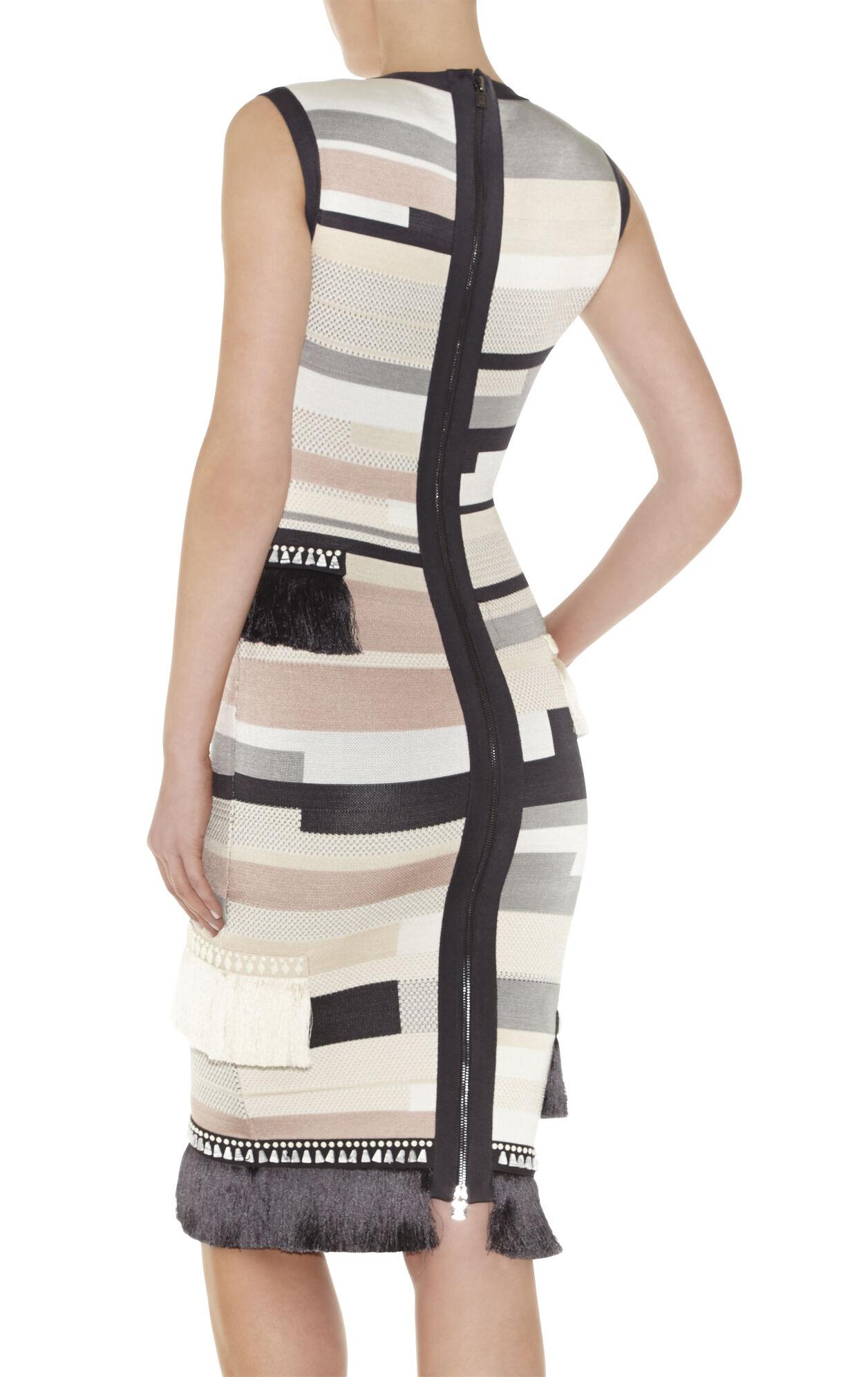 Gianna Stacked-Fringe Dress