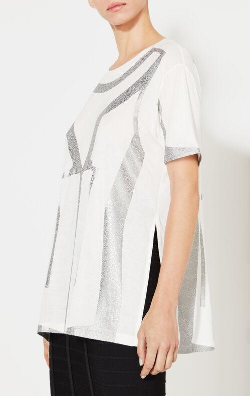 Liv Foil Print Short-Sleeve Tee