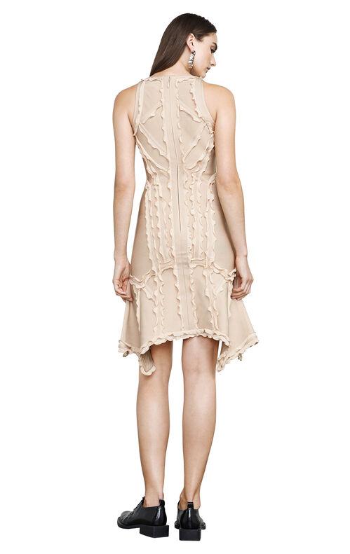 Kauri Ruffled-Trim Body-Con Dress