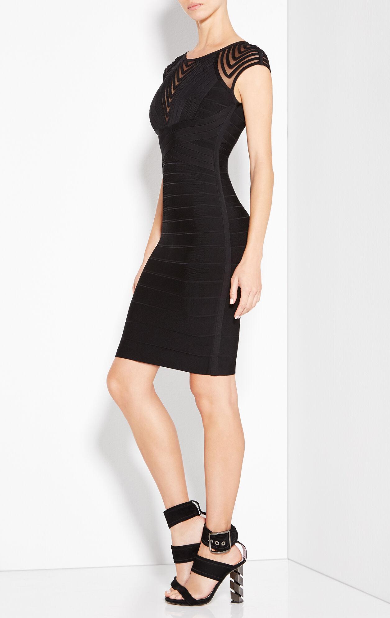 Deanna Tulle Applique Dress