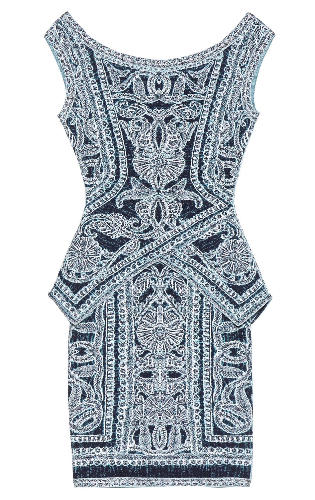 Staci Bohemian Floral Jacquard Dress