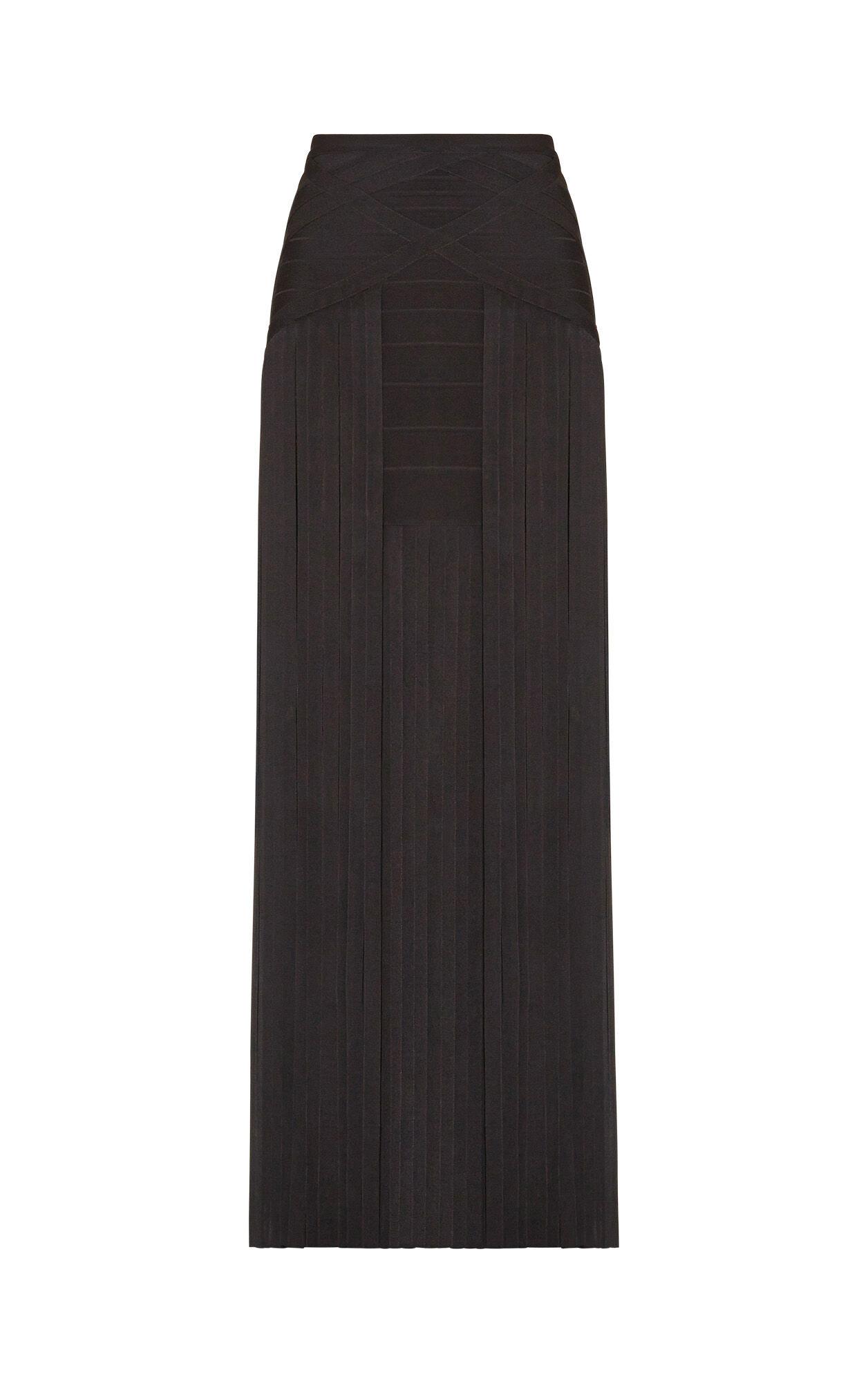 Margarida Draped Bandage Skirt