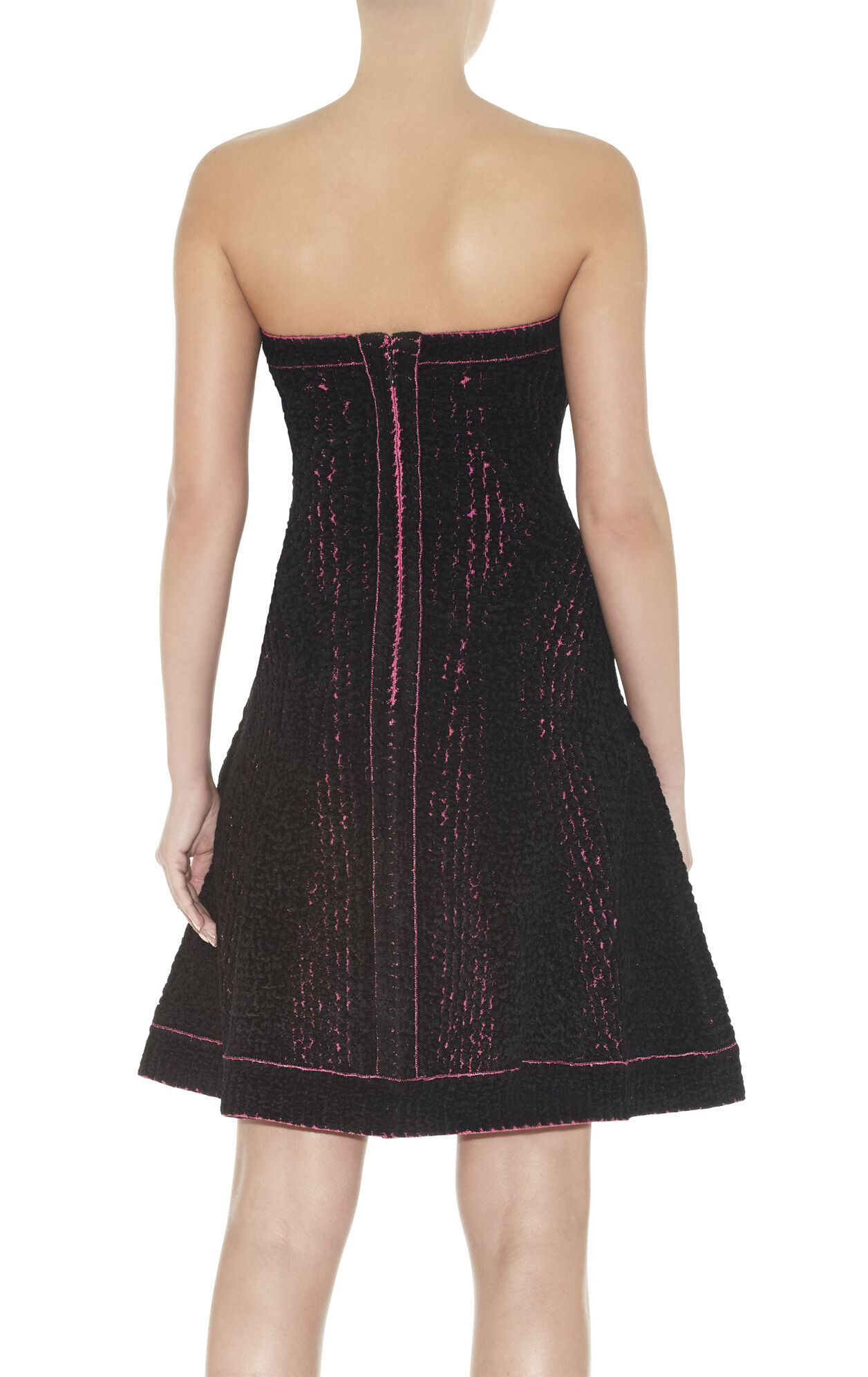 Luna Chenille Snake Jacquard Dress