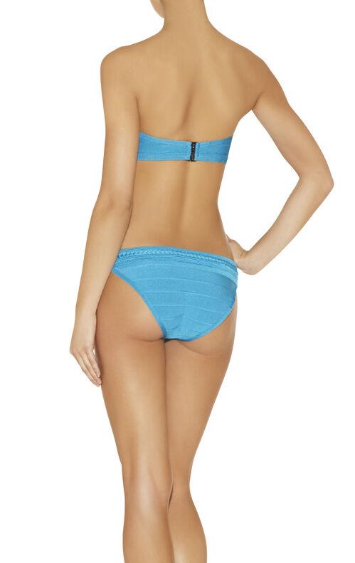 Brigitt Braided Ottoman Bandage Swimwear Top