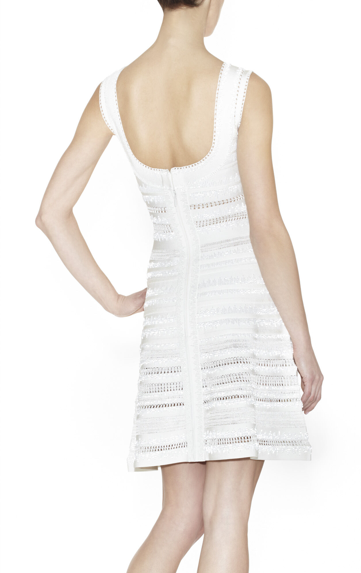 Briza Beaded Crochet Dress