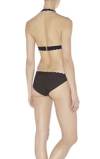 Milou Tipped Scalloped-Edge Bikini